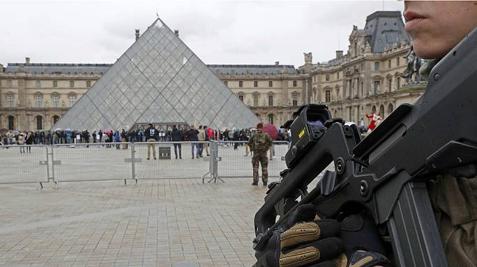 Soldier shoots knife attacker in Paris