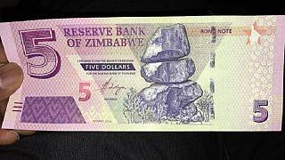 Zimbabwe introduces fresh $5 bond notes to ease cash crunch