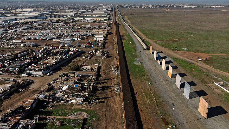 Image: TOPSHOT-MEXICO-US-BORDER-WALL