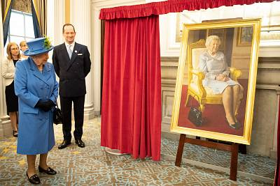 The beloved handbag was even captured in an official portrait of the queen in 2018.