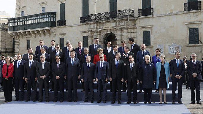 Vertice europeo a Malta, fronte comune sull'immigrazione