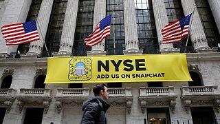 Snapchat - trotz Verlusten an die Börse