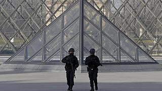 Louvre attack suspect 'entered France on Egyptian visa'