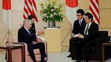James Mattis rencontre Shinzo Abe à J-7 de sa venue à Washington