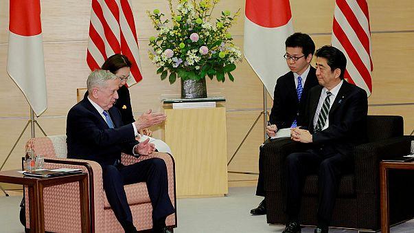 Tokio: Schulterschluss zwischen Japan und den USA