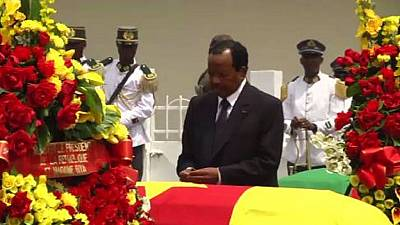 Cameroon pays tribute to fallen General, 3 soldiers killed in helicopter crash