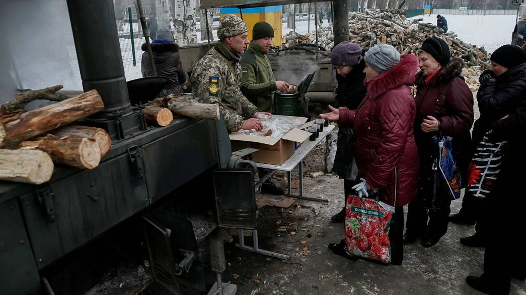 Serious concern for civilians caught up in new Ukraine fighting
