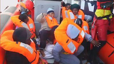 Plus de 200 migrants secourus au larges des côtes libyennes