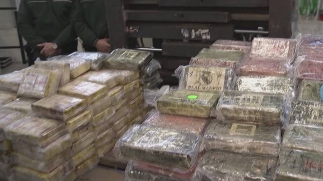 Hamburg Limanı'nda 717 kg kokain ele geçirildi