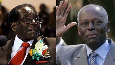 """""""Mugabe devrait prendre exemple sur dos Santos"""" (opposition sud-africaine)"""