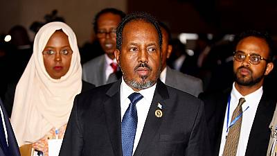Somali president vows to restore security and political stability if re-elected