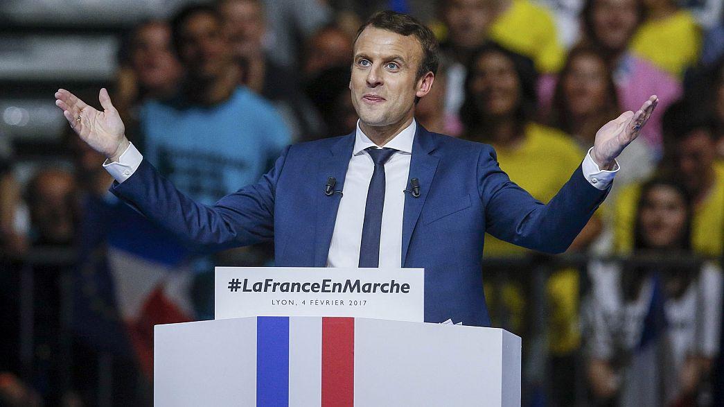France: Emmanuel Macron ramps up his presidential bid in Lyon