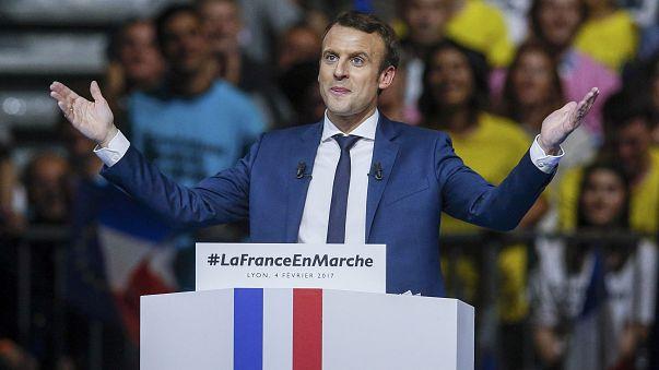 """Französischer Präsidentschaftskandidat Macron: """"Keine neuen Mauern"""""""