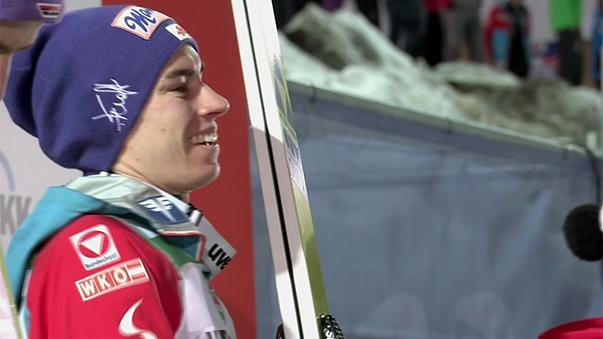 Stefan Kraft siegt in Oberstdorf - Wellinger mit Schanzenrekord Weltcup-Zweiter