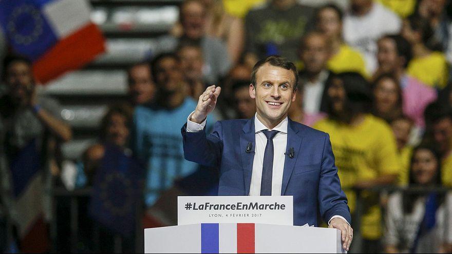 Démonstration de force d'Emmanuel Macron à Lyon