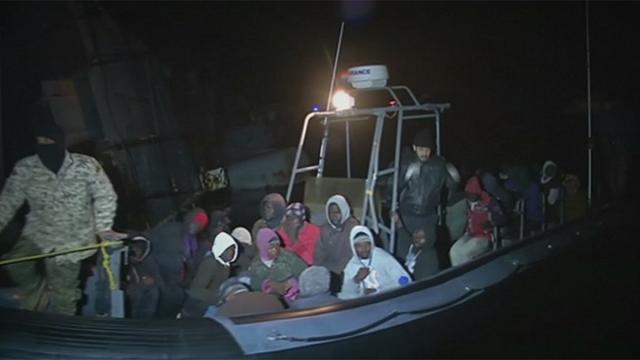 Scores of migrants rescued off Libya