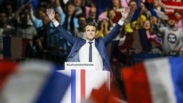Liebling der Medien oder Hoffnungsträger: Emmanuel Macron (39)