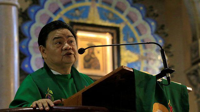 Duterte clashes with the Catholic Church