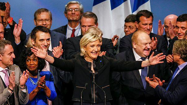 Marine Le Pen ringbe szállt