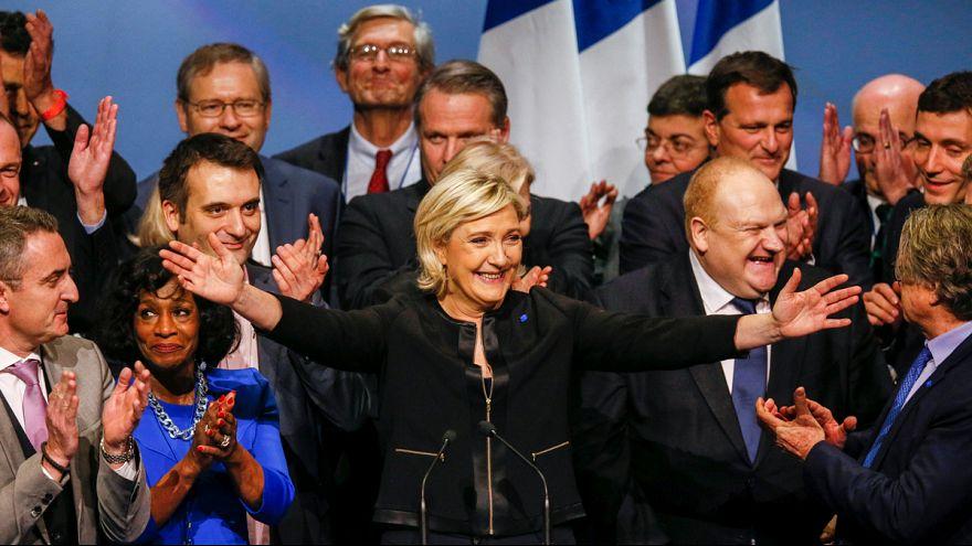 مارين لوبن تدعو الى الخيار الوطني المحافظ على حساب خيار العولمة