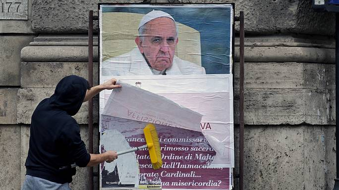 Pope Francis targeted by hate campaign