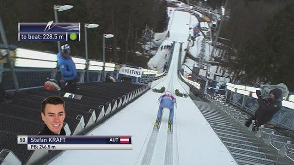 Gravity: Νέα νίκη για τον Κραφτ στην πτήση με σκι - Ξεκινάει το παγκόσμιο στο άλμα με σκι