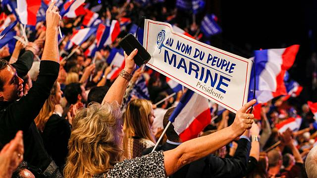 Le Pen gets tough on Europe in French presidential campaign launch
