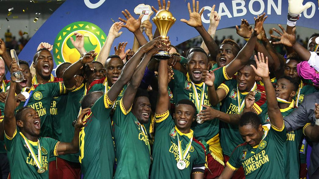Cameroon lift the African Cup of Nations