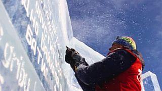 1. Eisbücherei in Sibirien