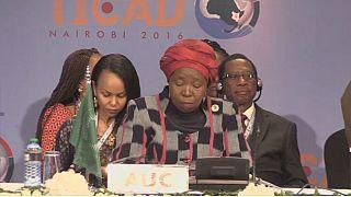 Afrique du Sud : Nkosazana Dlamini-Zuma en campagne pour succéder à Jacob Zuma