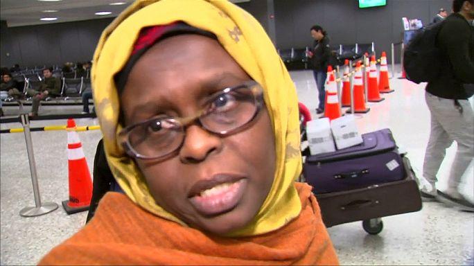 """Пассажиры из """"черного списка"""" прилетают в США, пока действует судебный запрет"""
