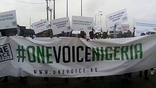 Nigerians stage anti-government protest despite cancellation by leader