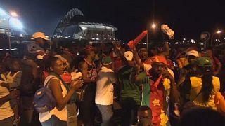 La joie des supporters camerounais après leur cinquième titre