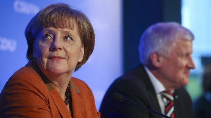 Alman merkez sağ partiler bir kez daha Merkel dedi