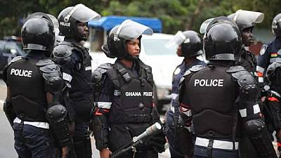 Ghana police recruits face mass expulsion in fake documents row