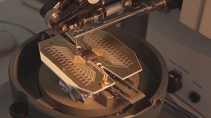 L'ébauche de l'ordinateur quantique