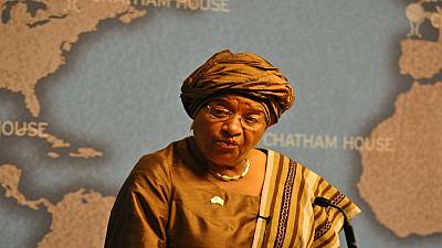 Liberia's Sirleaf orders a 60-day ban on foreign travel for government officials