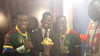 CAN 2017 : le gardien camerounais Fabrice Ondoa dédie sa victoire à Eto'o