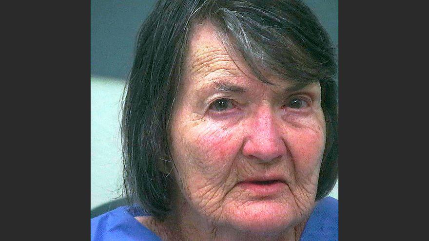 Image: Ramona Maxine Lund under arrest. Investigators say Lund fatally beat