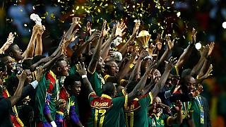 African champions Cameroon jet back home to heroes welcome