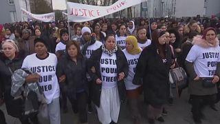 """France : """"justice pour Théo"""", battu et violé par la police"""