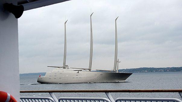 """""""Sailing Yacht A"""": egy orosz milliárdosé a legújabb vízicsoda"""