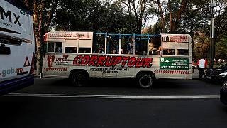 "Mexico's bus tour of ""corrupt hot-spots"""