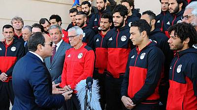 Sisi applauds Egyptian football team despite cup final defeat