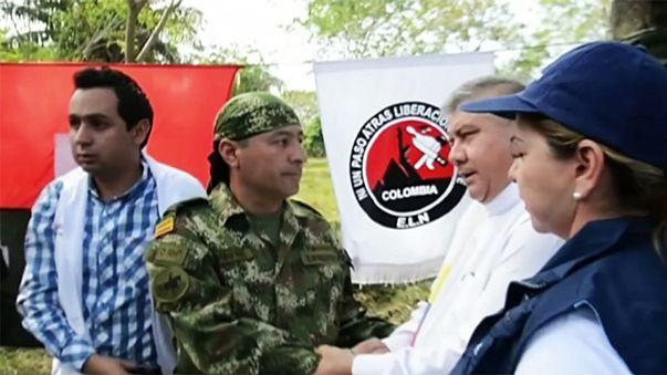 Κολομβία: Ξεκινούν ειρηνευτικές συνομιλίες με τους αντάρτες ELN