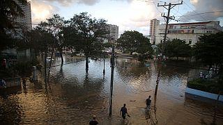 RDC: fortes inondations à Kinshasa