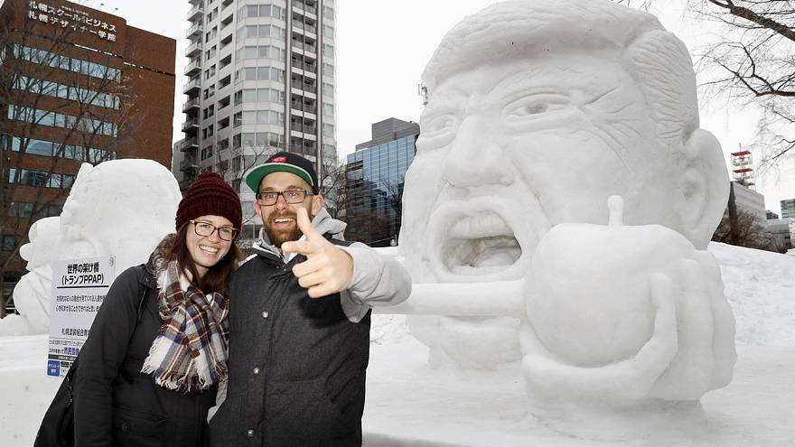 O Festival de Neve e Gelo de Sapporo já abriu