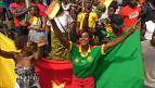 Cameroon celebrates along with the Africa's Champions [no comment]