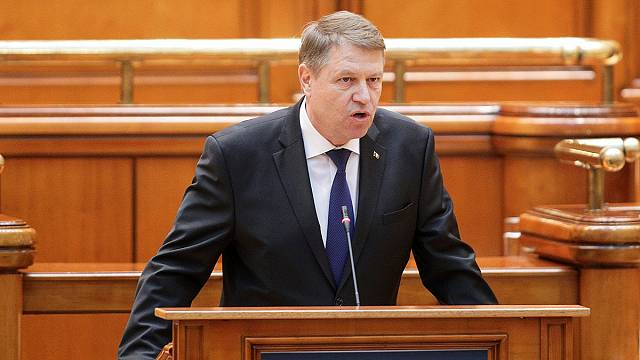 """الرئيس الروماني:"""" رومانيا باتت بحاجة لحكومة تعمل بشفافية"""""""