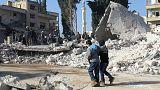 Siria: bombardamento a Idlib, almeno 20 morti